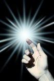 Lumière de Dieu photographie stock