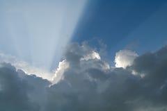 Lumière de Dieu Images libres de droits