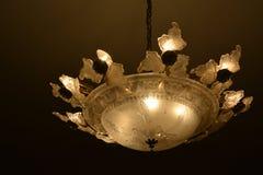Lumière de fantaisie sur le plafond photos libres de droits