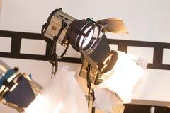 Lumière de film Images stock