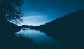 Lumière de fin de nuit Images stock