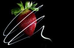 Lumière de fraise photographie stock libre de droits