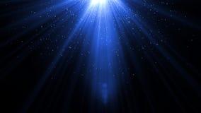 Lumière de fusée de lentille au-dessus de fond noir Facile d'ajouter le recouvrement Photos stock