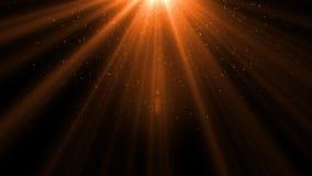 Lumière de fusée de lentille au-dessus de fond noir Facile d'ajouter le recouvrement Images stock
