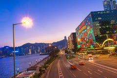 Lumière de Hong Kong Images libres de droits