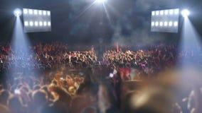 Lumière de l'étape 3d de concert