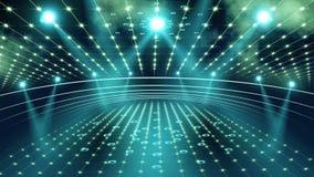 Lumière de l'étape 3d de concert clips vidéos