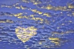 Lumière de l'amour Image stock