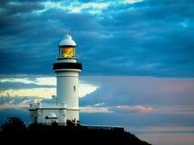 Lumière de l'Australie de salutation la première Photo libre de droits