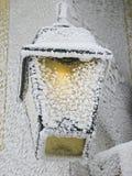 Lumière de l'hiver Image stock