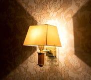 Lumière de lampe Photo stock