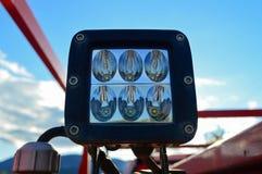 Lumière de LED montée sur le camion Photographie stock libre de droits