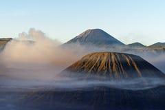 Lumière de matin au Mt Bromo Indonésie photos libres de droits