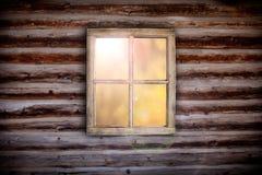 Lumière de matin par la fenêtre de carlingue images libres de droits