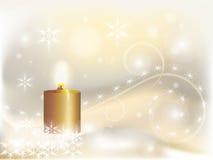 Lumière de Noël Photographie stock