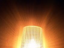 Lumière de nuit avec le capteur Image stock