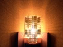 Lumière de nuit avec le capteur Photos libres de droits