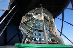 Lumière de phare de pilier de Tynemouth Photo libre de droits