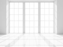 Lumière de pièce blanche Photo libre de droits