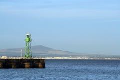 Lumière de port Images libres de droits