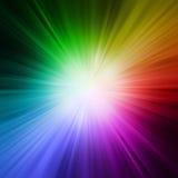 Lumière de rayons Photographie stock