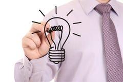 lumière de retrait d'ampoule Image libre de droits