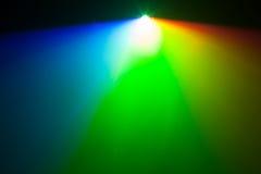 Lumière de spectre de RVB de projecteur Images libres de droits