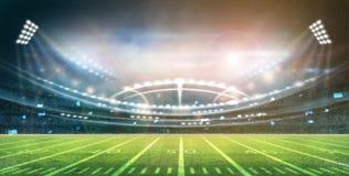 Lumière de stade Photos libres de droits