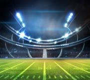 Lumière de stade Images stock