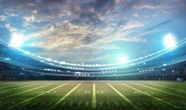 Lumière de stade Photo libre de droits