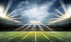 Lumière de stade Images libres de droits