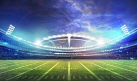 Lumière de stade Image stock