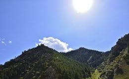 Lumière de Sun Image libre de droits