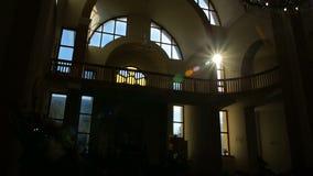 Lumière de Sun et bâtiments, nature, clips vidéos