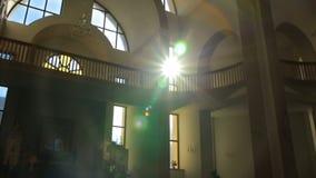 Lumière de Sun et bâtiments, nature, banque de vidéos
