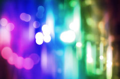 Lumière de tache floue Images stock