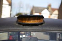 Lumière de taxi Photo stock