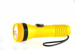 Lumière de torche de batterie Photographie stock libre de droits