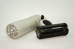Lumière de torche de LED Photo libre de droits