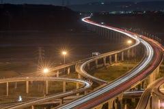 Lumière de transport de Taïwan en heure de pointe photos stock