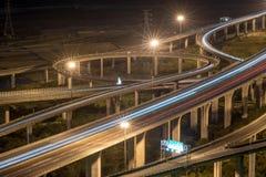 Lumière de transport de Taïwan en heure de pointe image libre de droits