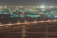 Lumière de transport de Taïwan en heure de pointe photographie stock libre de droits