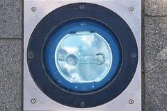 Lumière de trottoir Image libre de droits