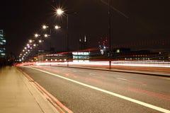 Lumière de ville Images libres de droits