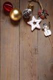 Lumière des étoiles de Noel Image libre de droits