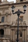 Lumière devant la cathédrale, Léon, Guanajuato photo stock