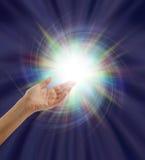 Lumière divine spectaculaire photo stock