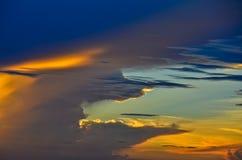 Lumière du ciel Image stock