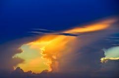 Lumière du ciel Photographie stock libre de droits