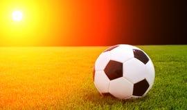 Lumière du football images libres de droits